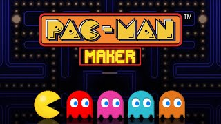PAC-MAN Maker (by BANDAI NAMCO Entertainment Europe) IOS Gameplay Video (HD)