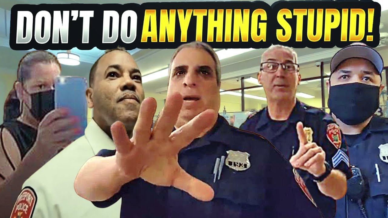 FREEPORT, NY POLICE SGT. GETS EDUCATED BY CHIEF! 1ST AMENDMENT AUDIT FAIL!