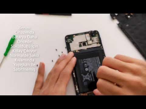 Nokia Lumia 1320 Batarya Değişimi (battery Replacement)