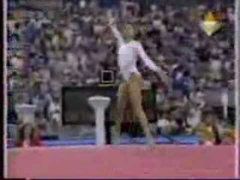 Betty Okino - 1992 Olympics Team Optionals - Floor Exercise streaming vf