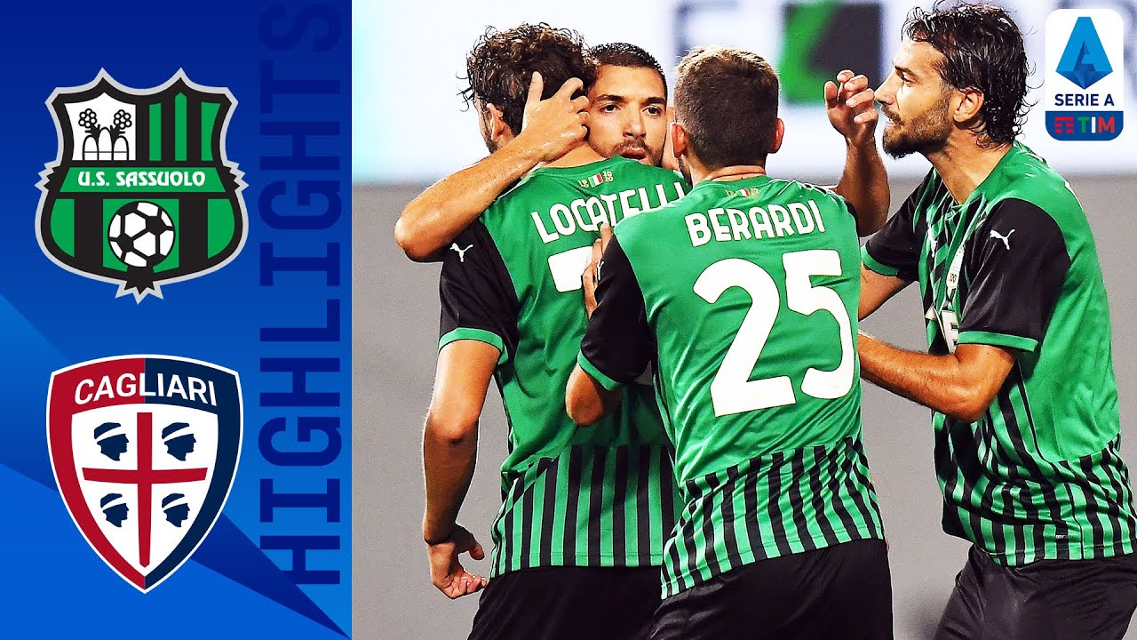Sassuolo 1-1 Cagliari | Late Bourabia Strike Earns an Opening Day Point for Sassuolo | Serie A TIM