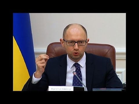 Ukraine PM reacts after Russia cuts gas supply to country