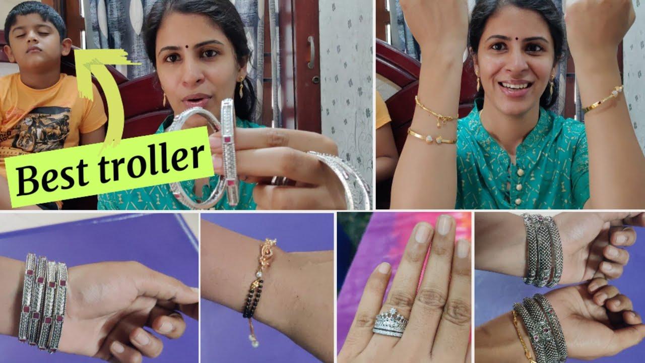 வேற level collections பாருங்க😁 Partywear   Meesho Bangle haul under 300/-    Bangles and Bracelets