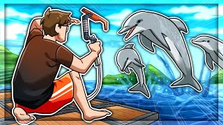 I Found DOLPHINS In Raft Survival (Renovation Update)