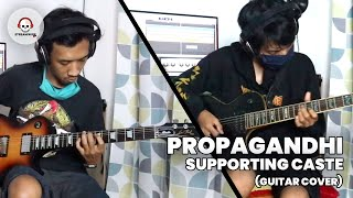 PROPAGANDHI - SUPPORTING CASTE (Guitar Cover)