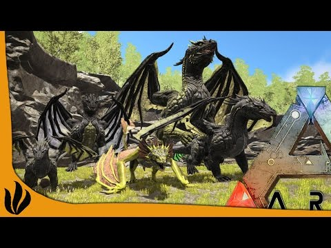 ARK MOD FR #12 S7 - Acid Wyvern Drake & Dragon !