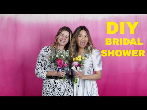 Bridal Shower Hacks & Ideas For Broke A$$ Bridesmaids