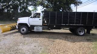 Lot 34: 1997 GMC C6500 Dump Truck- Starting Up and Moving