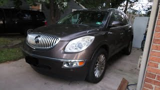 2010 Buick Enclave CXL Start Up, and Review