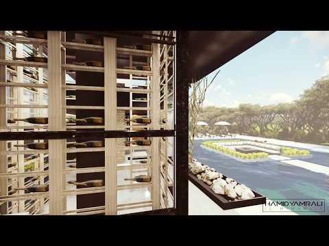 Wine House İstanbul , 3D Animation : Hamid Yamralı İç Mimarlık , Designer : Merve Bilgin