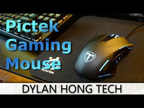 Pictek Wired Gaming Mouse REVIEW! [DRIVER IN DESCRIPTION