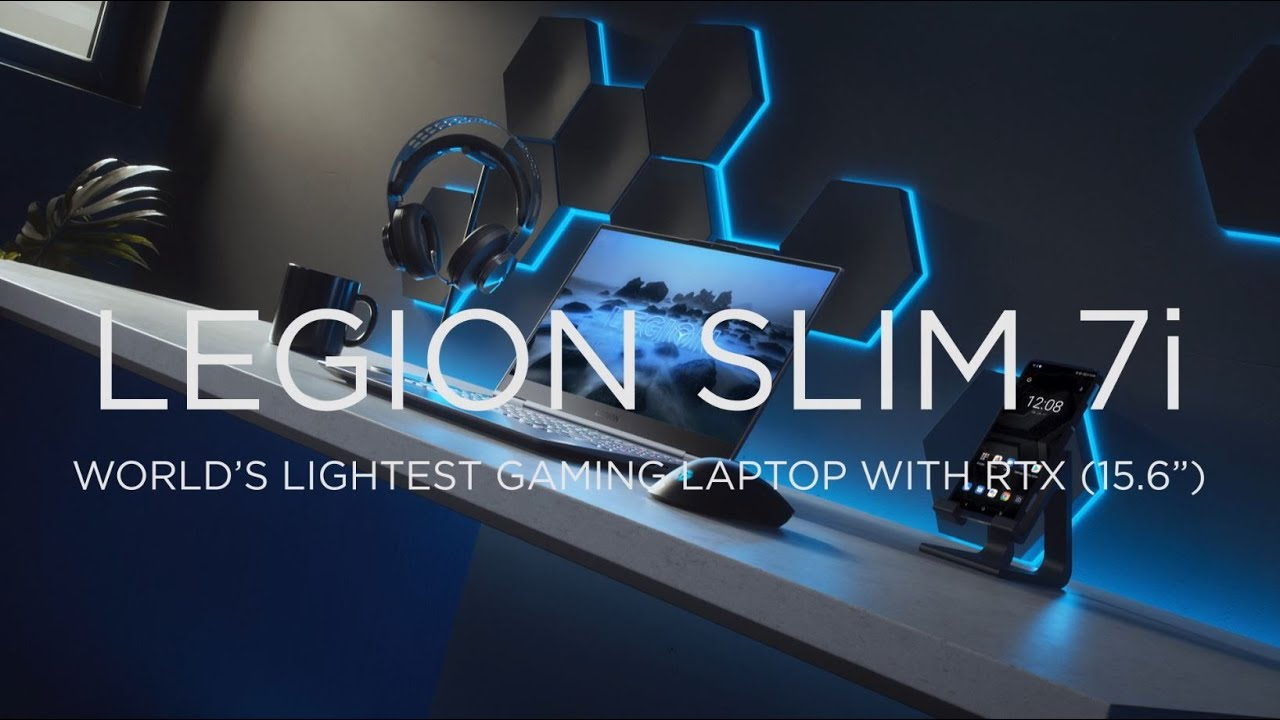 "Legion Slim 7i: The World's Lightest Gaming Laptop with NVIDIA® GeForce RTX™ (15.6"")"