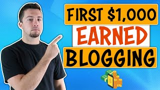 How to Make Your First $1,000 Blogging (2 Simple Strategies to Monetize Your Blog)