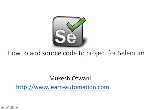 How to add Java Documentation to your Selenium Project