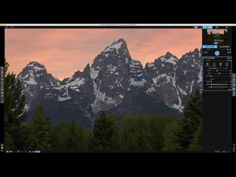 Post Processing Workflow to Avoid Sharpening Halos