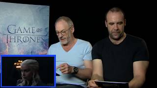 Game of Thrones | Cast React To YouTube Comments On The Season 7