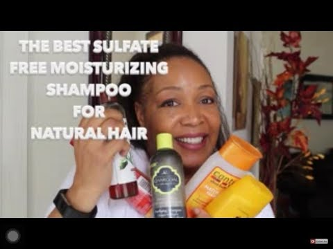 The Best  Moisturizing, Sulfate Free Shampoo For Natural Hair