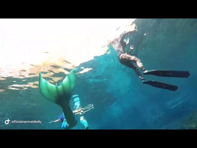 Mermaids Swim at Ginnie Springs, Florida | MERMAID KELLY
