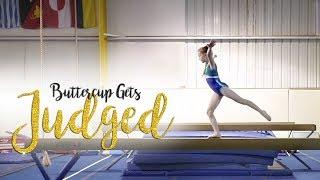 Usag Level 4 Gymnastics Beam Routine Judged Buttercup Sgg