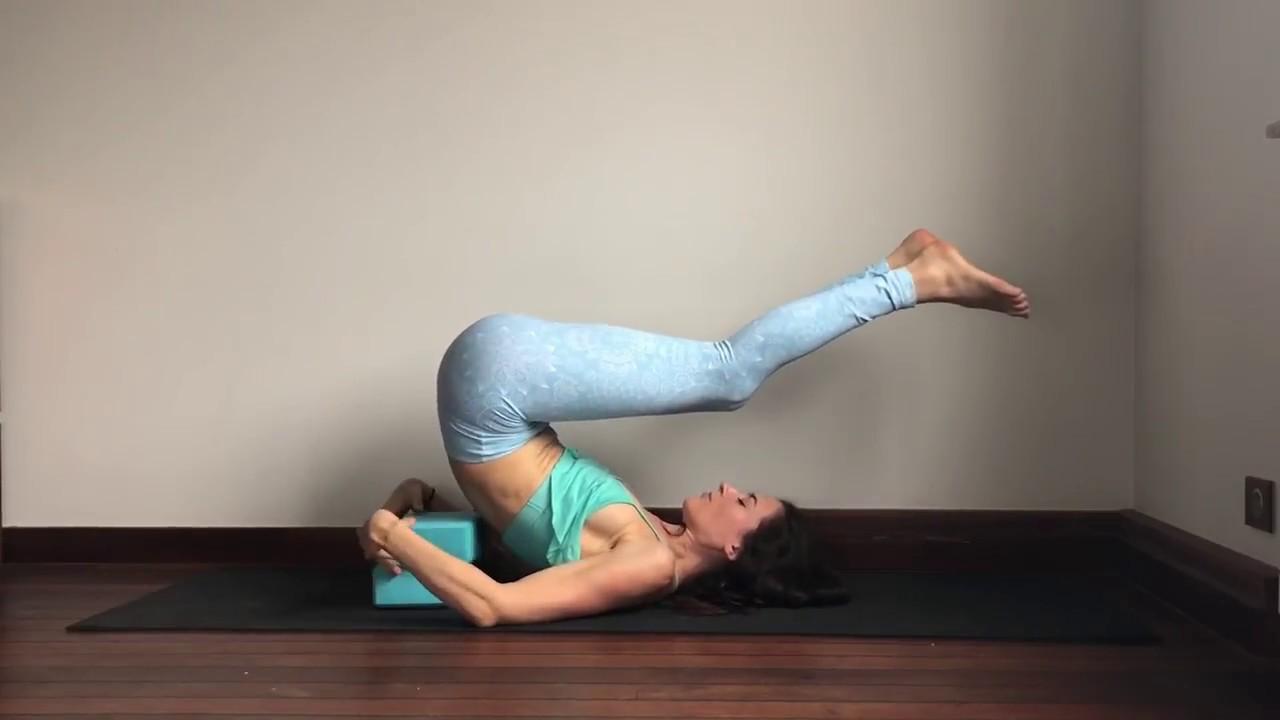 Yin Yoga for Throat or Vishuddha Chakra - Full Sequence with Chakra  Meditation