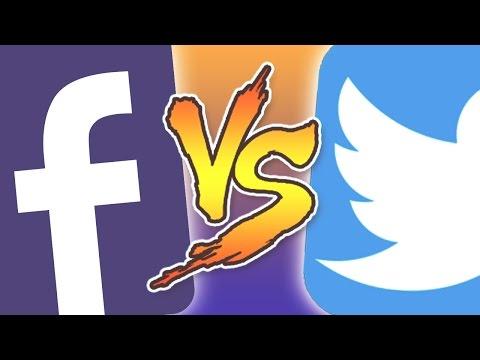 FACEBOOK VS TWITTER - Le Clash !