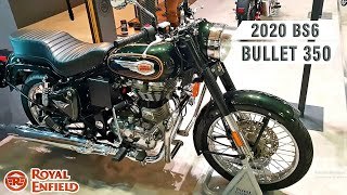 2020 Royal Enfield BULLET 350 BS6 & BULLET 500 BS6 | Launch Date, Price, Features,  #rider_VEER_JI