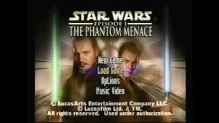 Retro Gaming: Star Wars Ep. 1 The Phantom Menace