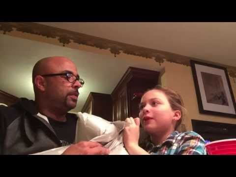 Funny Helium Burps with Steve Shannon and His Daughter