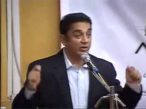 Kamal hassan at IIT Bombay - Avenues'2010