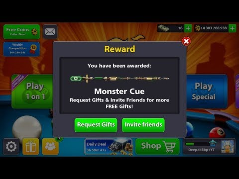 8 Ball Pool Free Monster Cue & Avatar! Link in The Descriptions & Pinned Comment!