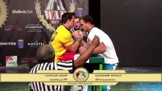 ARM WRESTLING World  Championship 2017 (Senior Men - 100 kg RIGHT)