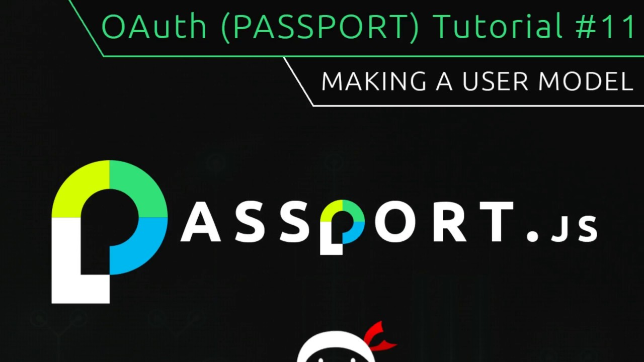 Oauth passportjs tutorial 11 making a user model youtube oauth passportjs tutorial 11 making a user model baditri Gallery