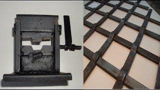 видео Кованые изделия решетки