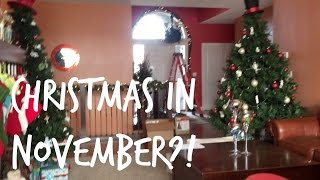 CHRISTMAS IN NOVEMBER?