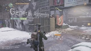 Tom Clancy's The Division Final Mission General Assembly