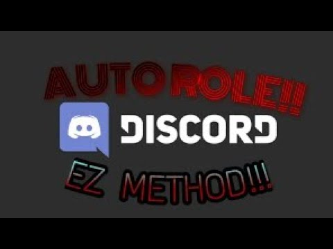 How to use auto role in Discord EZ Method Using TATSUMAKI