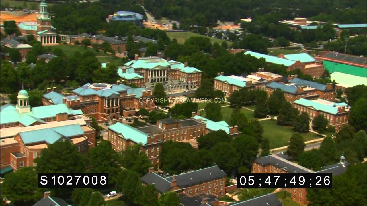 Wake Forest University - StreamWerx Aerial Stock Footage - YouTube