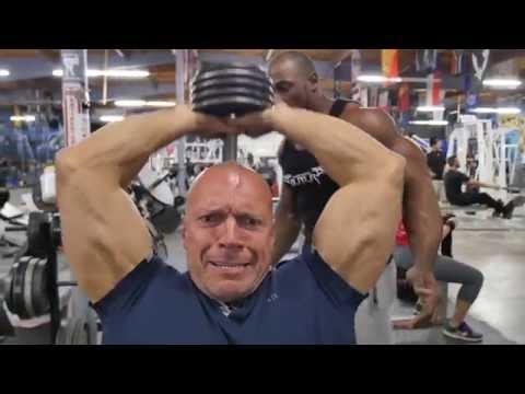 Тренировка здорового ТРИЦЕПСА. Jay Hardbody.