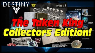 Destiny The Taken King Collector's Edition Contents! Equippable Emotes & Exotic Class Items!