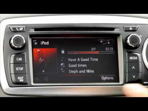 Toyota Touch & Go - How to play music via Bluetooth or a USB device