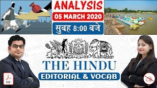 The Hindu Editorial Analysis | By Ankit Mahendras & Yashi Mahendras | 5 March 2020 | 8:00 AM