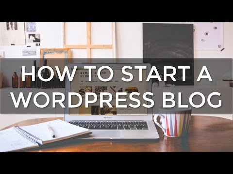 How to Start a WordPress BLOG in Just 3 Minutes!