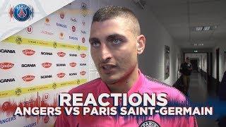 REACTIONS : ANGERS vs PARIS SAINT-GERMAIN