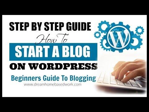 How To Create A Free Website/Blog on WordPress.com: Tutorial 2015