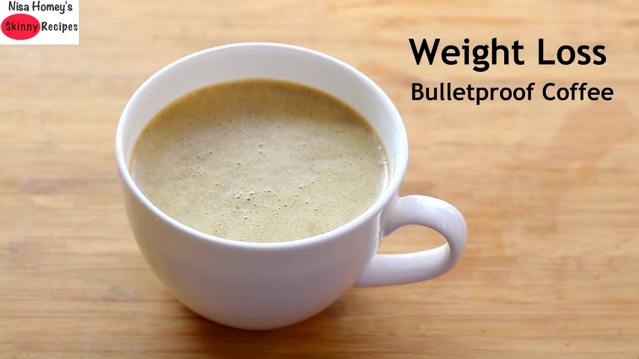 How To Make Bulletproof Coffee For Weight Loss – Ghee Coffee Recipe – Keto Coffee | Skinny Recipes