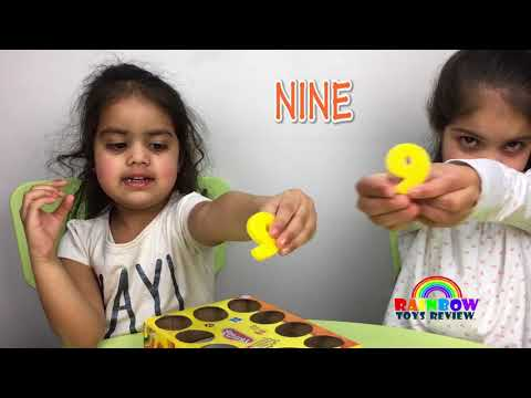 Learn To Count with Play Doh Numbers | 1 to 10 | Fun Learning Activity for Kids Children Toddlers