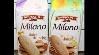 Pepperidge Farm Milano Dulce De Leche & Lemon Chocolate Review