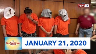 Balitanghali Express: January 21, 2020 [HD]