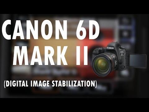 CANON 6D MARK II (Digital Image Stabilization Test)
