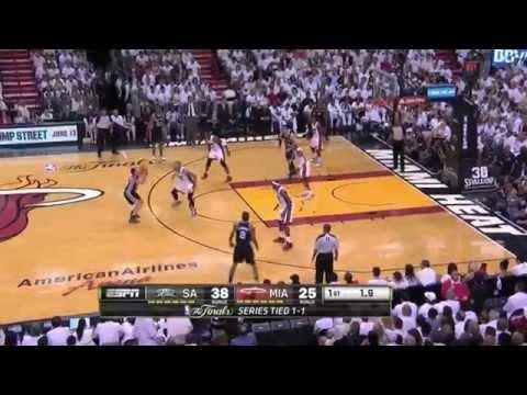 Spurs Score 41 Points in 1st Quarter vs Heat - Game 3